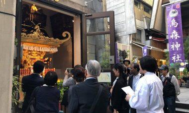 老舗歩き(烏森神社)